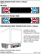 Rear Trailer Flaps